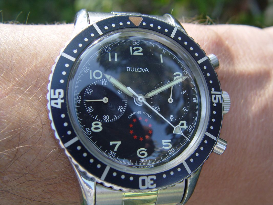 Vintage Bulova Marine Star Chronograph for sale ...