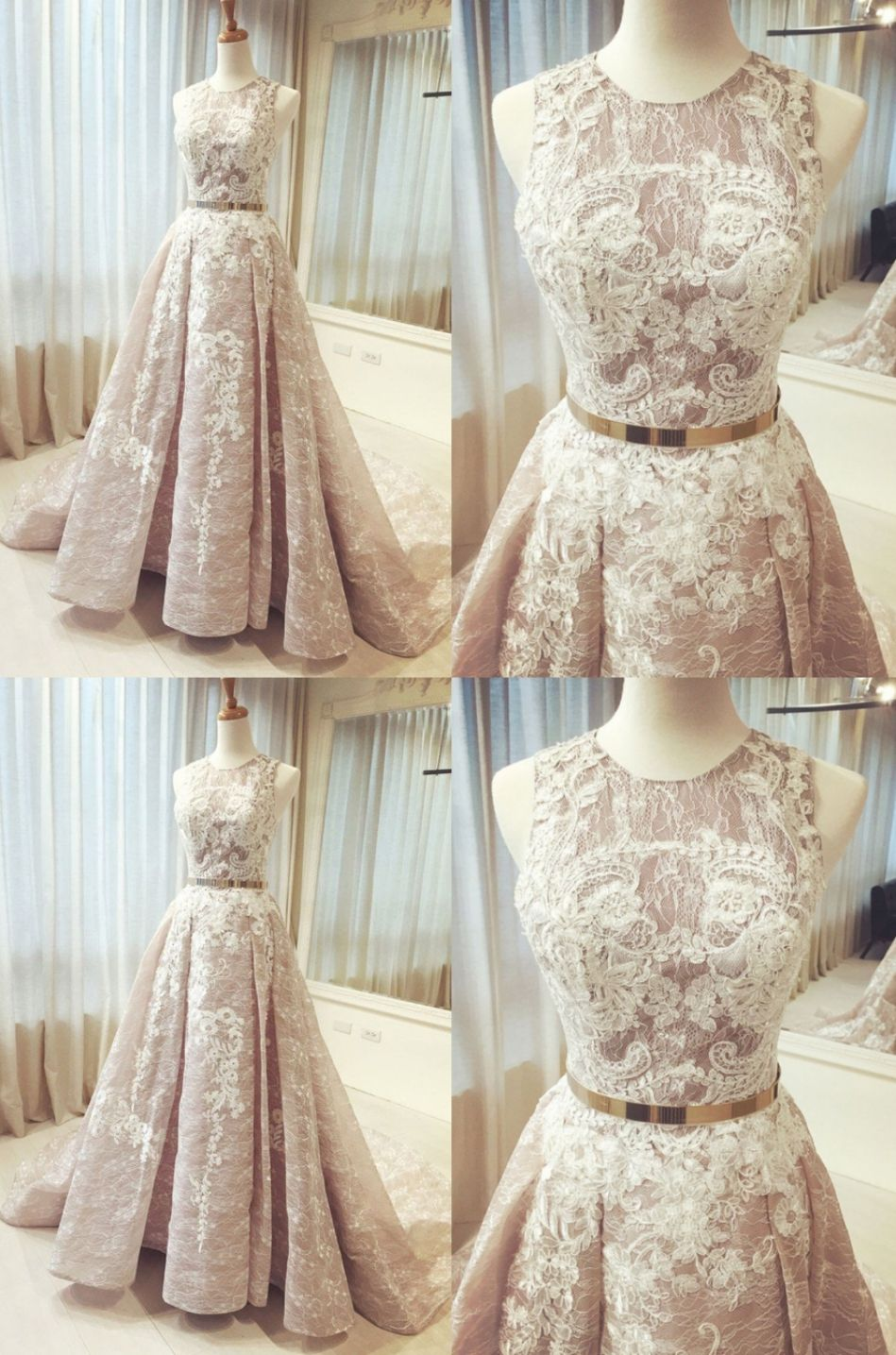 Outlet champagne prom dresses long wedding dresses long champagne