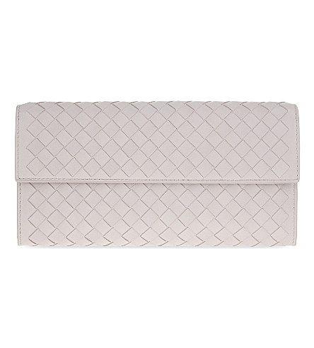 BOTTEGA VENETA Intrecciato Leather Continental Wallet.  bottegaveneta  bags   leather  wallet  accessories   0b975cc6af3d8