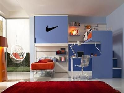 Details About Nike Wall Art Decal Boys Kids Sports Athletic Room