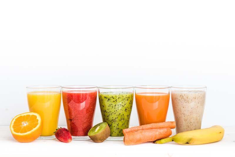 Batidos para bajar de peso de frutas
