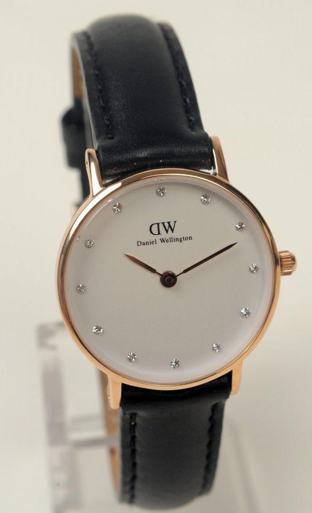 30c33eb3b8e Daniel Wellington Watch Womens Sheffield Black Rose Gold