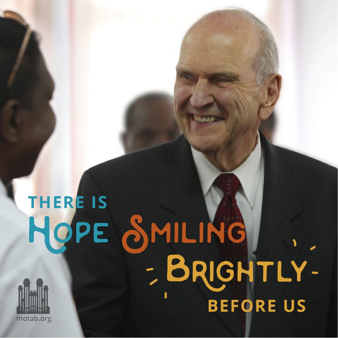 c38fa9f080666 there is HOPE SMILING brightly before us | My Faith | Lds apostles ...