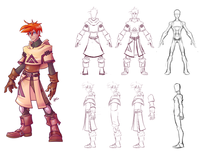 Male Character Modeling In Blender : Attachment php character sheets pinterest