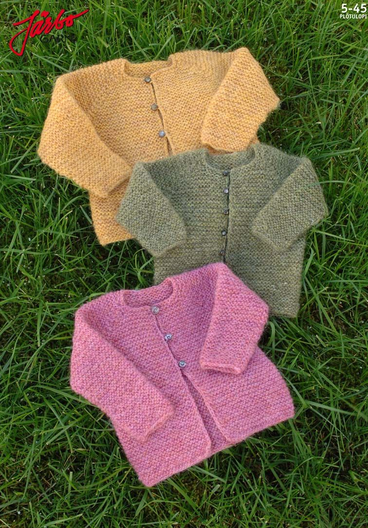 Lovely knitted baby cardigan.