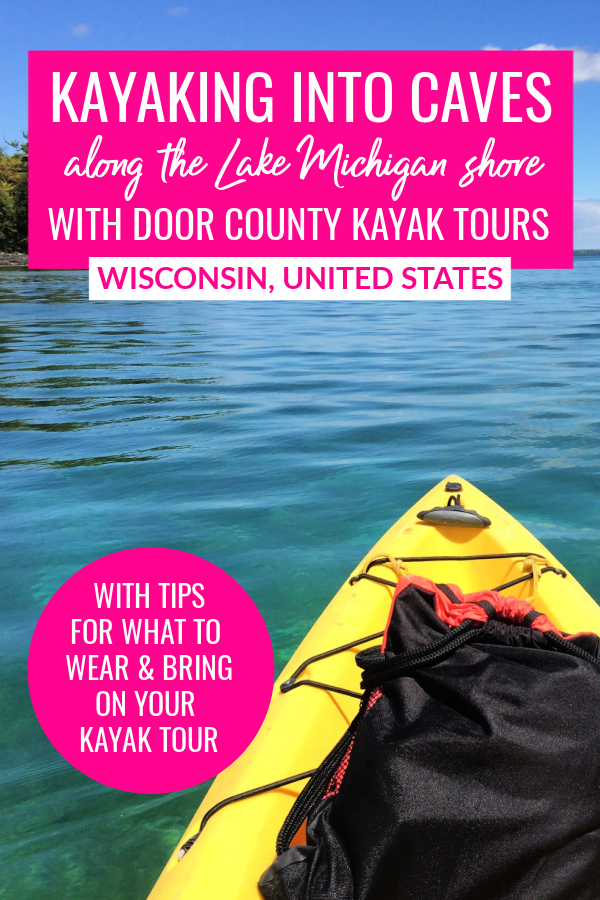 Kayaking Into Lake Michigan Caves With Door County Kayak Tours In 2020 Wisconsin Travel Midwest Travel North America Travel Destinations