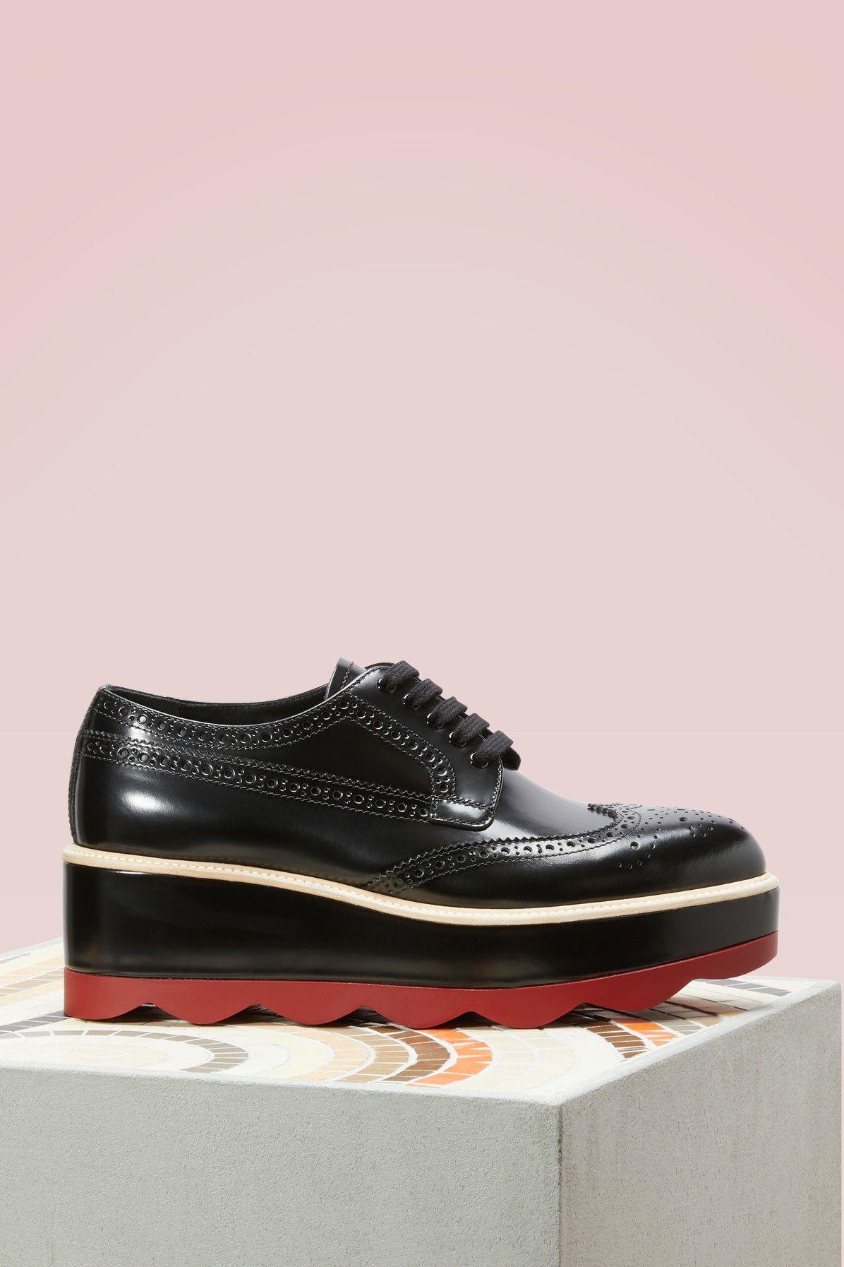a8c4b1b88cf PRADA Red sole derbies.  prada  shoes