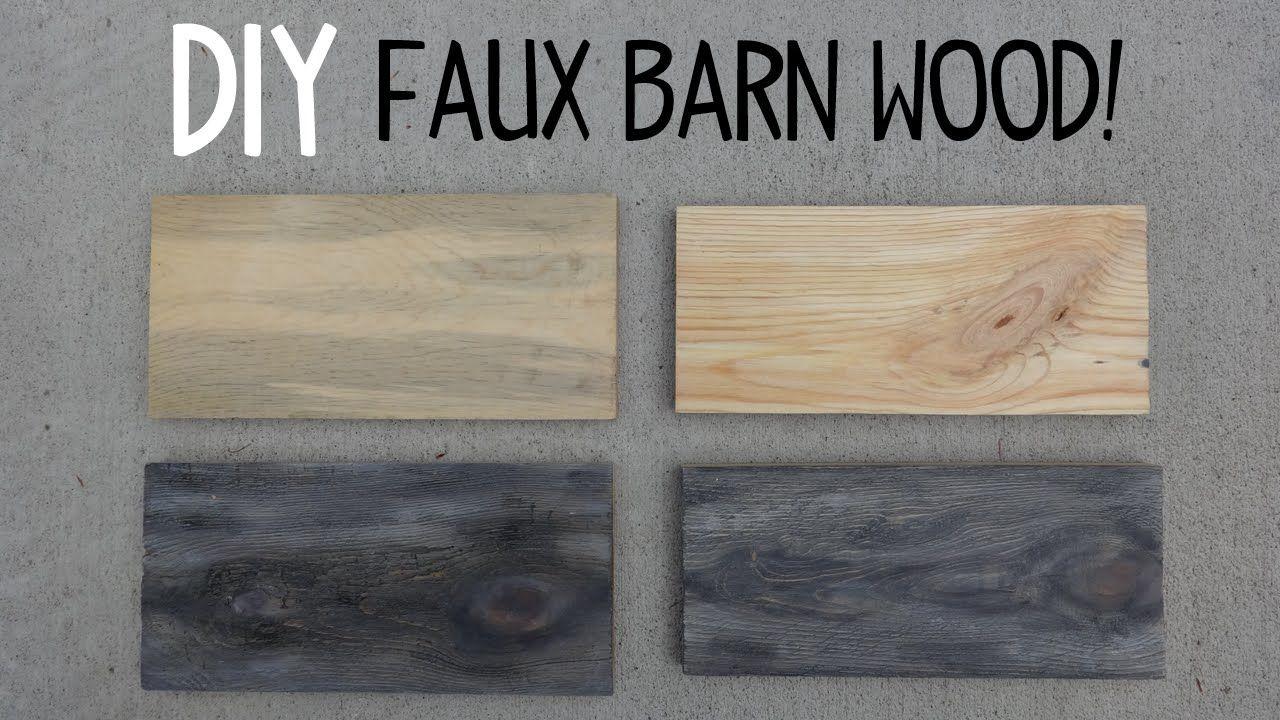Diy Faux Barn Wood Paint Trick With Images Faux Wood Paint