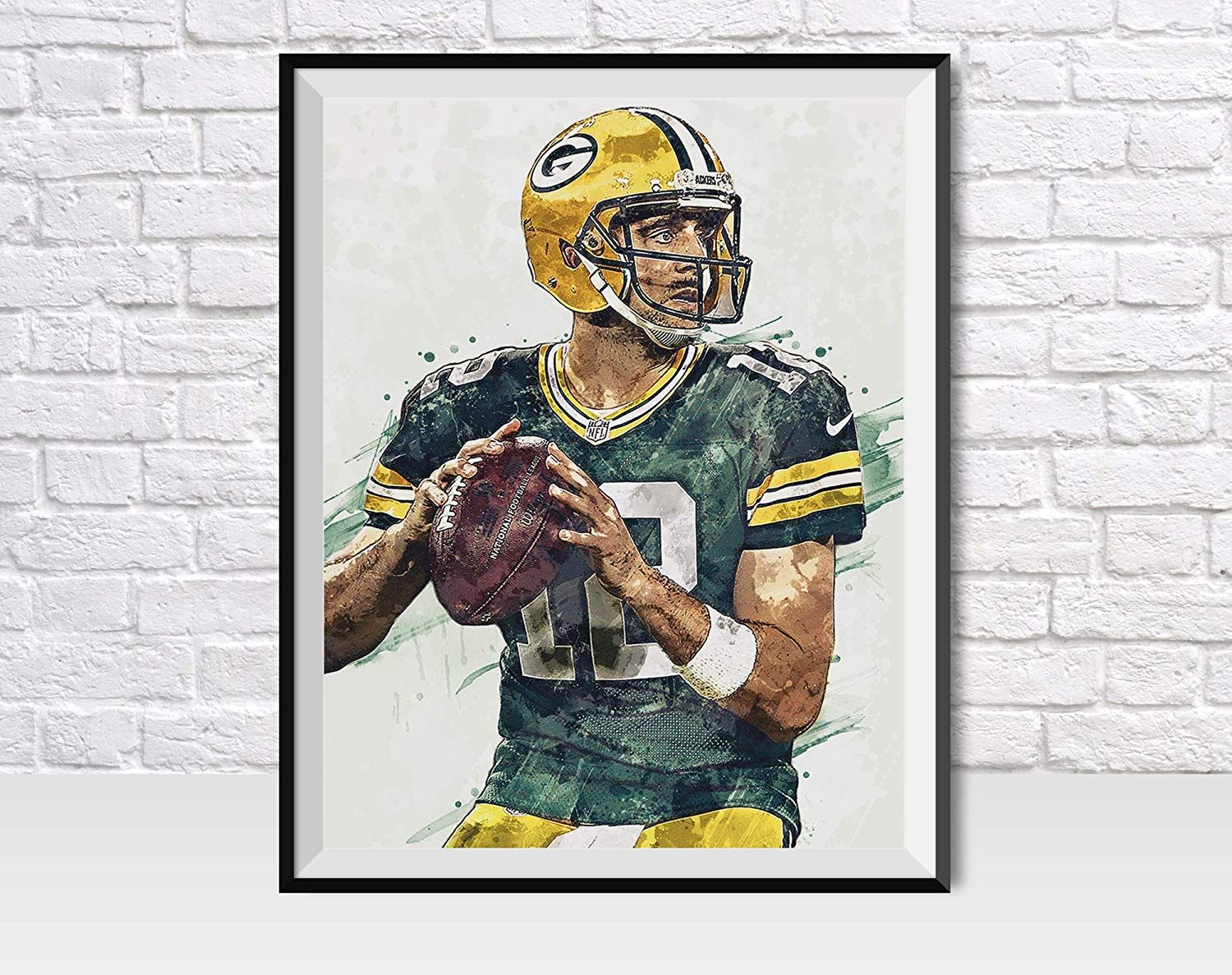 Packers Man Cave Wall Decor Kids Room Wall Decor Football Artwork