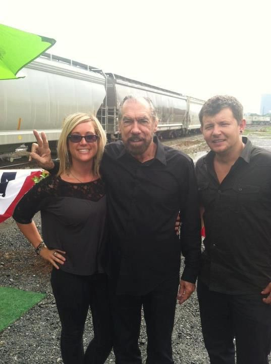 Jennifer our Admissions Leader, and Rex, our Design Team leader, with John Paul Dejoria