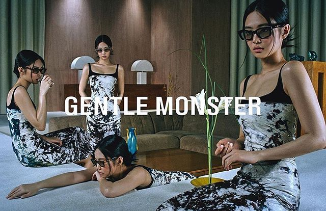 """GENTLE MONSTER Official on Instagram: """"[JENTLE HOME] Gentle Monster unveils 'Jentle Home' collaborated with@jennierubyjaneof BLACKPINK. On April 21, the full collection will be…"""""""