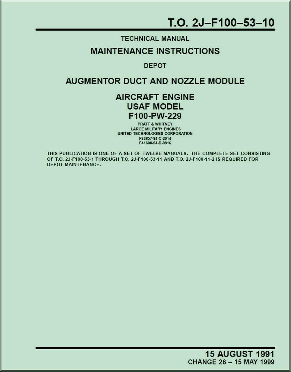 pratt whitney f 100 pw 229 aircraft engines maintenance rh pinterest com F100 Aircraft Engine American Vietnam Era Jet Aircraft