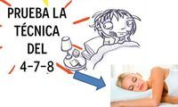 Este truco ha sido uno de los más comentados en las numerosas redes sociales, trata de la técnica de respiración 4-7-8, que asegura que puede ayudar a c