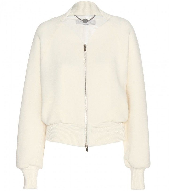 Stella McCartney mytheresa.com exclusive Wool bomber jacket