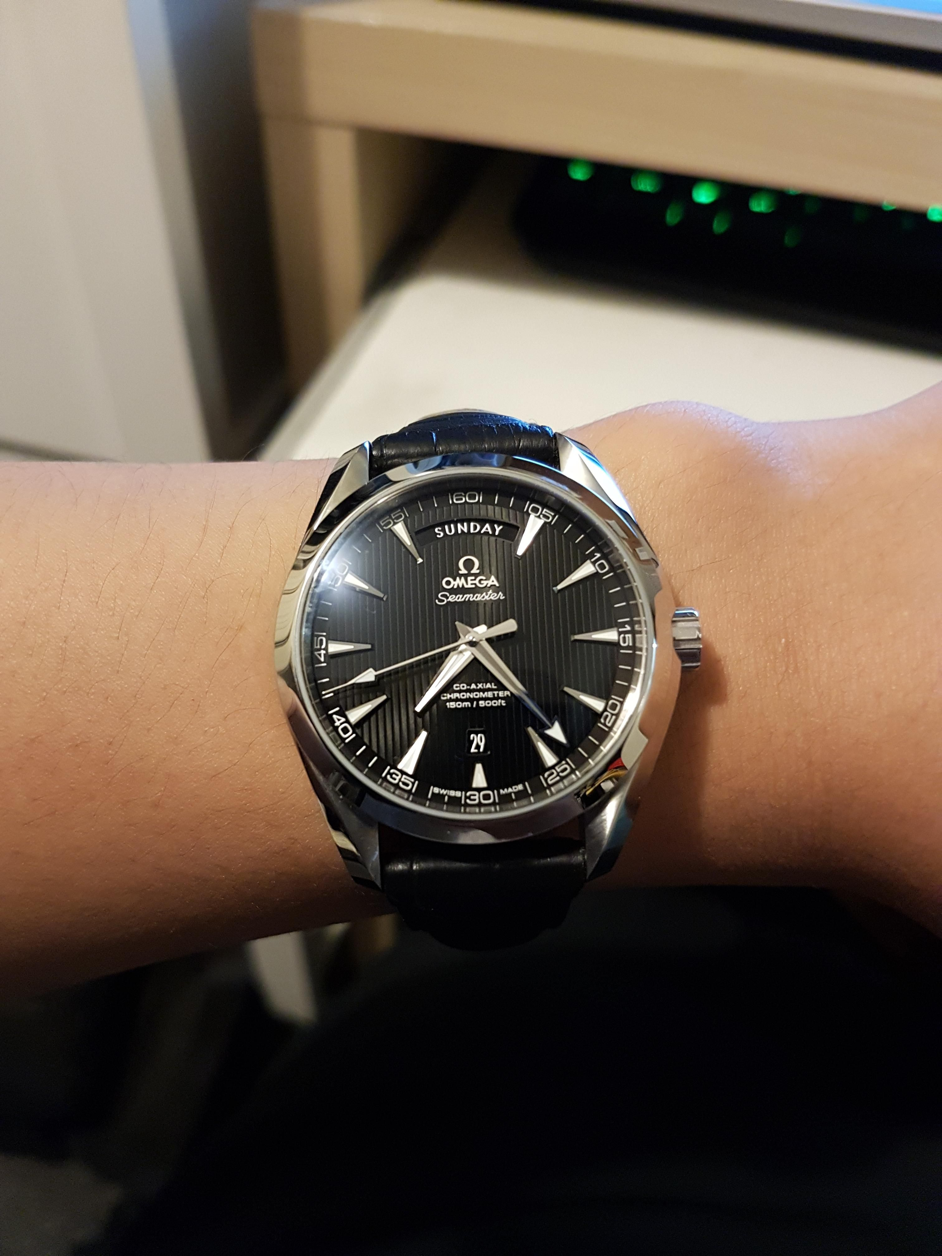 Pin by rna direct on men 39 s watches pinterest omega seamaster watches and watches for men for Aqua marine watches
