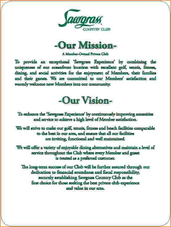 Image Result For Vision Statement Examples For The Workplace
