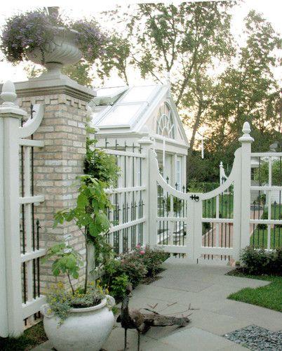 Potager Garden Blogs: Landscape Fences Design, Pictures, Remodel, Decor And