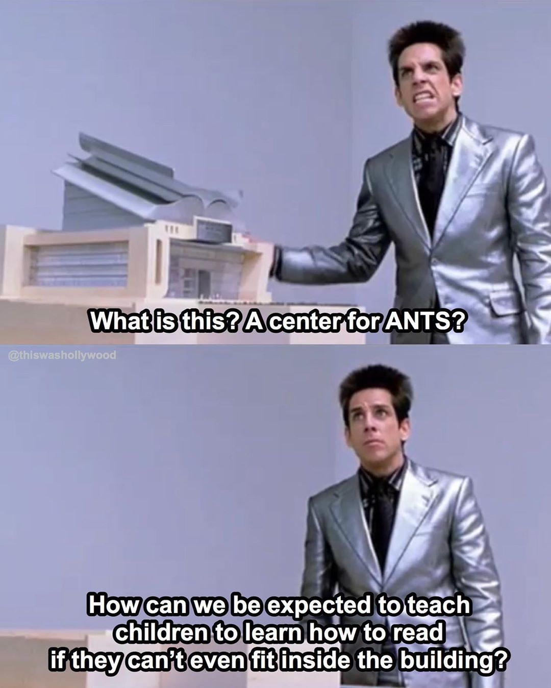 This Was Hollywood On Instagram Zoolander 2001 Zoolander A Series Of Unfortunate Events Quotes Event Quotes