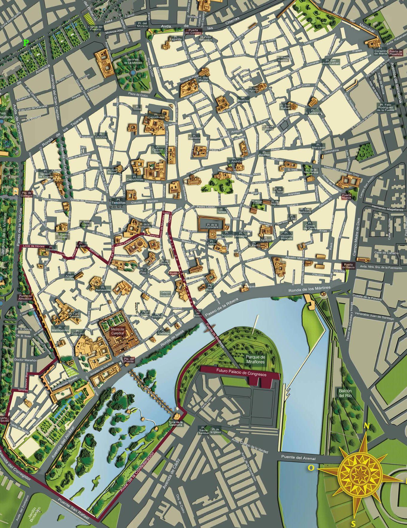 Cartina Mappa Spagna.Mappa Cordova Cartina Di Cordova In Spagna Cordoba Spagna Cordoba Mappe Illustrate