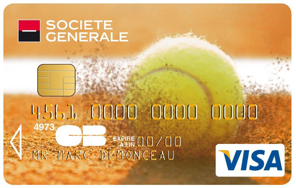 Carte Visa Societegenerale Tennis Societe Generale Sport Et