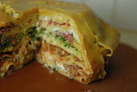 cool lasagna~will try this: