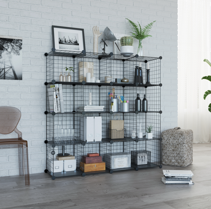 Tons Of Space Need A Shelving Rack In Which To Store Clothes Accessories Souvenirs Items Or Tools Ou Cube Storage Stackable Storage Bins Bookcase Diy