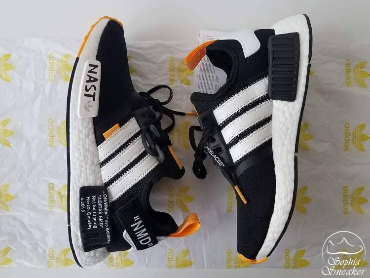 UA NMD x Off White Not for Runing NAST Black White is part of Cheap adidas shoes -