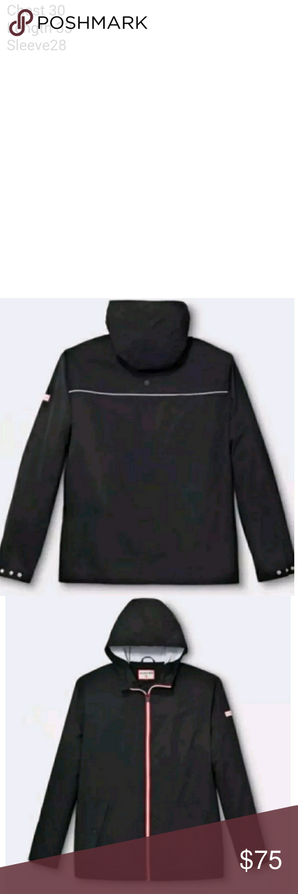 f880cc466 Hunter for Target black packable Windbreaker Brand new with tags ...