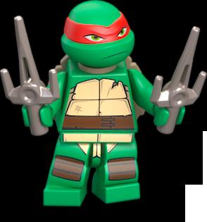 Lego ® Ninja Turtles minifigura raphael de set 79103