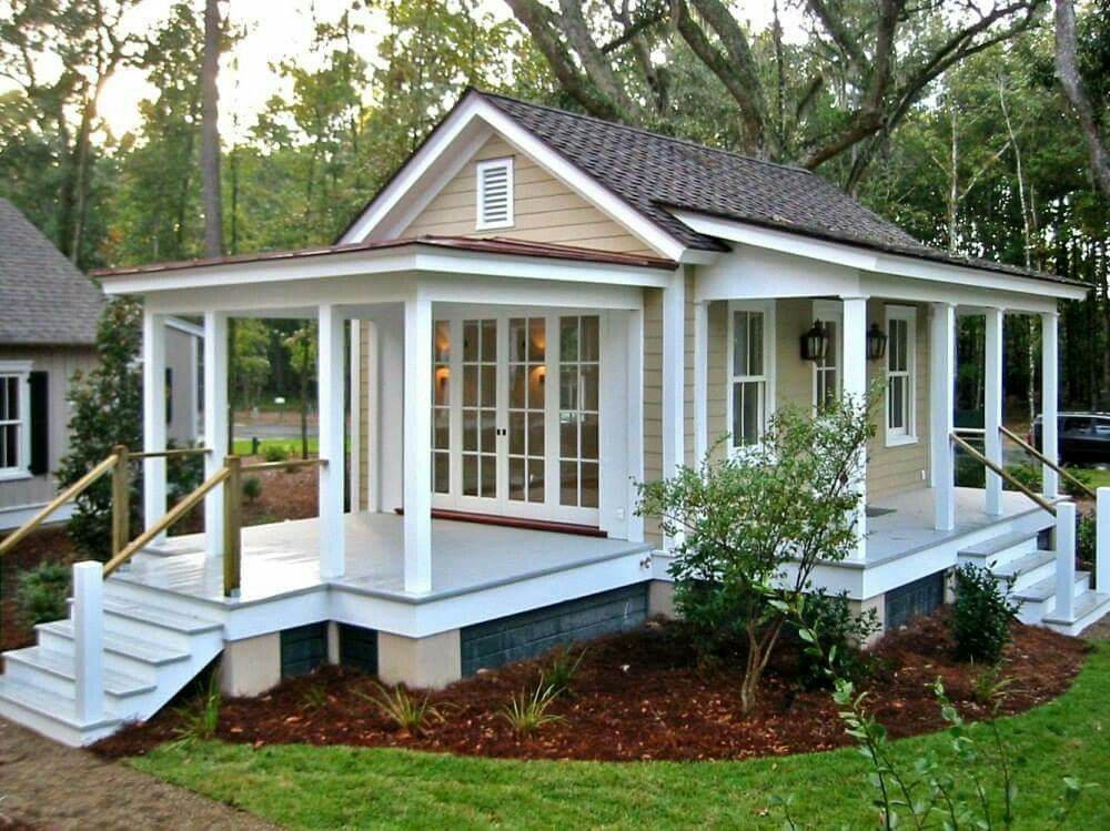 Perfect little guest house   Tiny house plans small ...