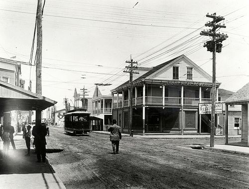 Corner Of Duval And Greene Street In The Early 1900 S History Keywest Key West Florida Key West Old Florida