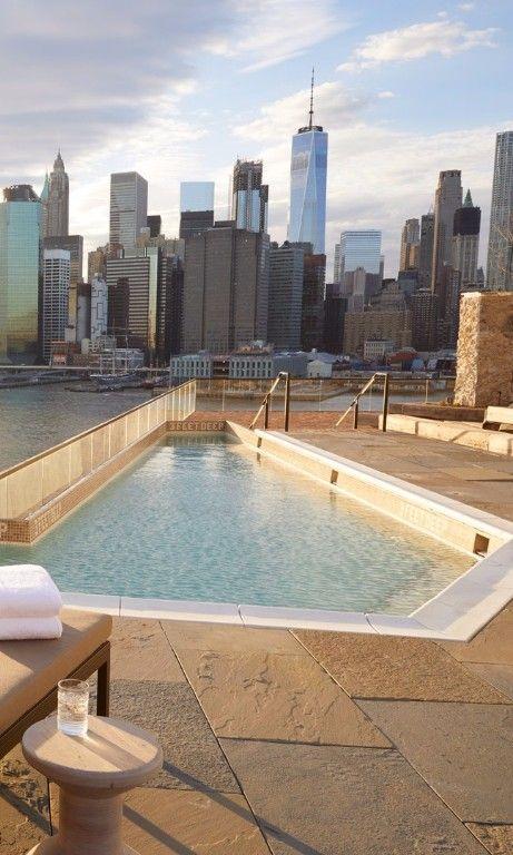 Best Hotel Pools In New York City Travel New York City Travel