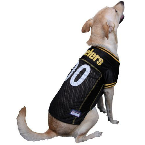 best service e34d2 6e4bc pittsburgh steelers jersey for dog