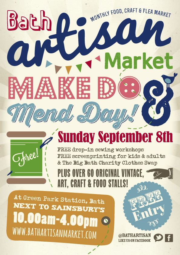 Make Do And Mend September 2013 With Craft Workshops Free