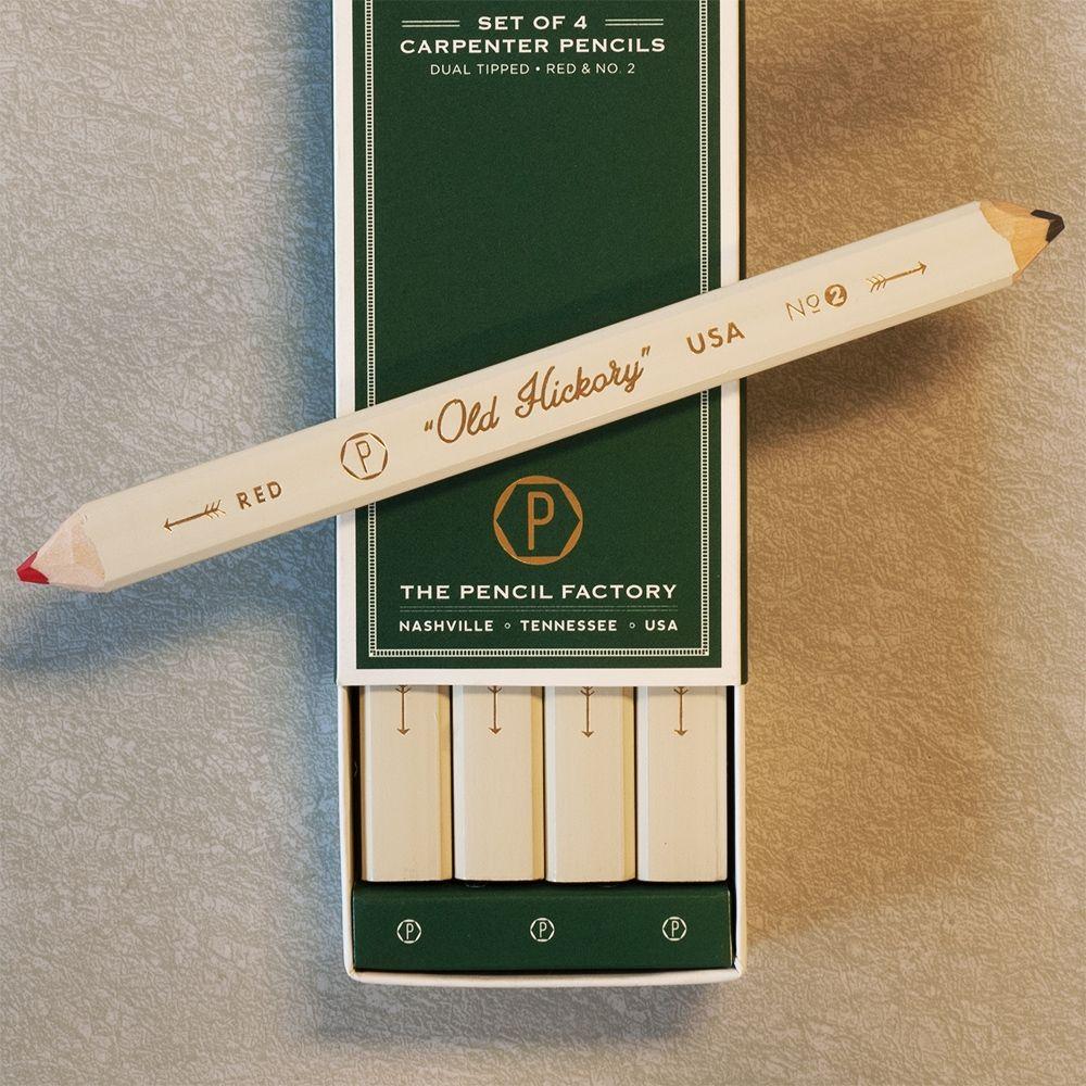 Carpenter  Pencil Box Set u2022 Made in USA u2022 Set of 4 Dual- & Carpenter