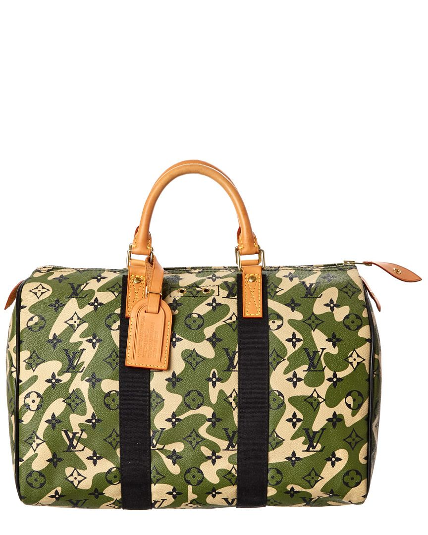 5387a3893644 Louis Vuitton Limited Edition Takashi Murakami Monogramouflage Speedy 35 is  on Rue. Shop it now.