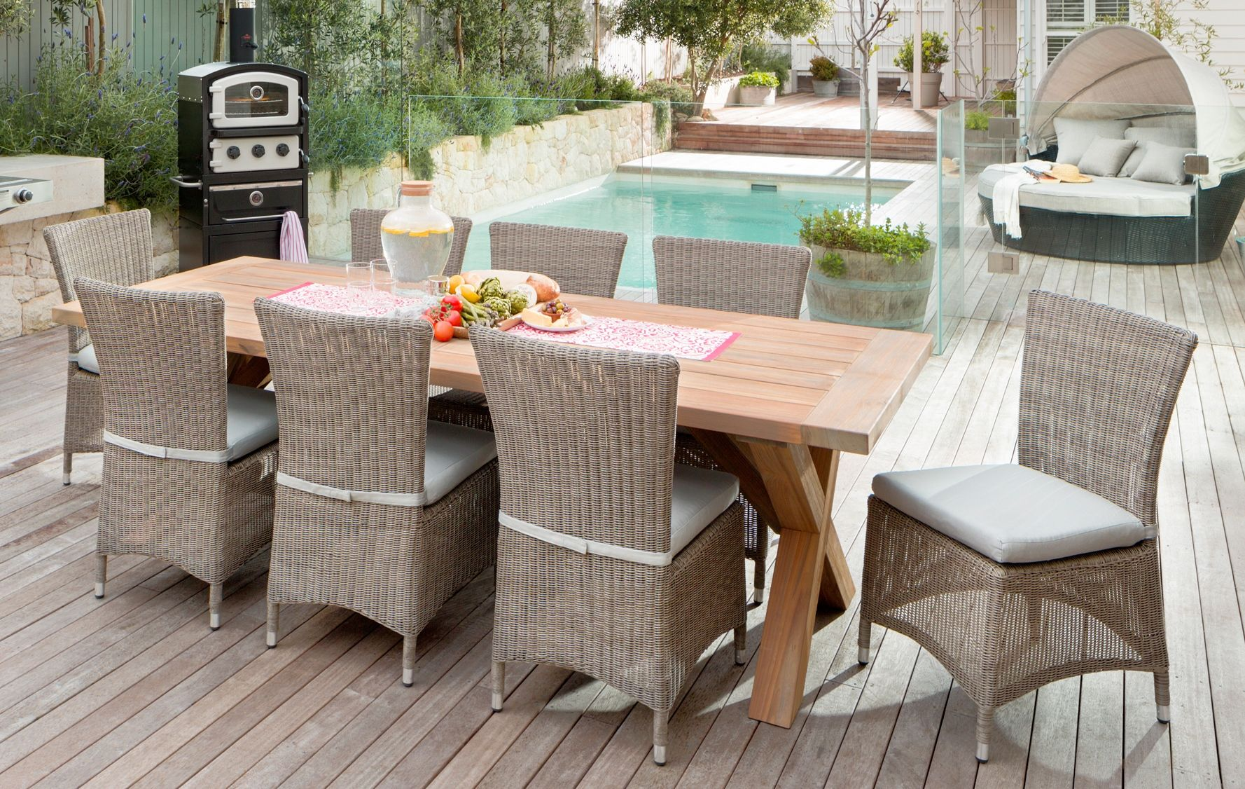 European Elegance - Outdoor Inspiration package at Bunnings ...