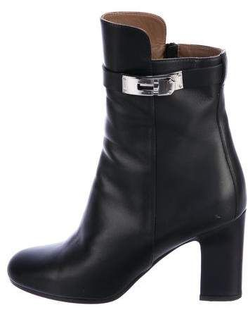 Hermès Round-Toe Ankle Boots largest supplier online Tdww9vO