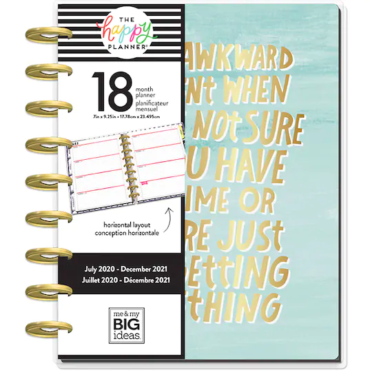 ME /& MY BIG IDEAS PLANNER SNAP POUCH RONGRONG