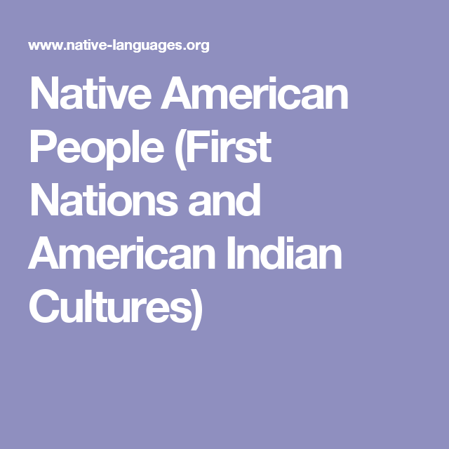 Native American People First Nation And Indian Culture Expository Essay Competition On