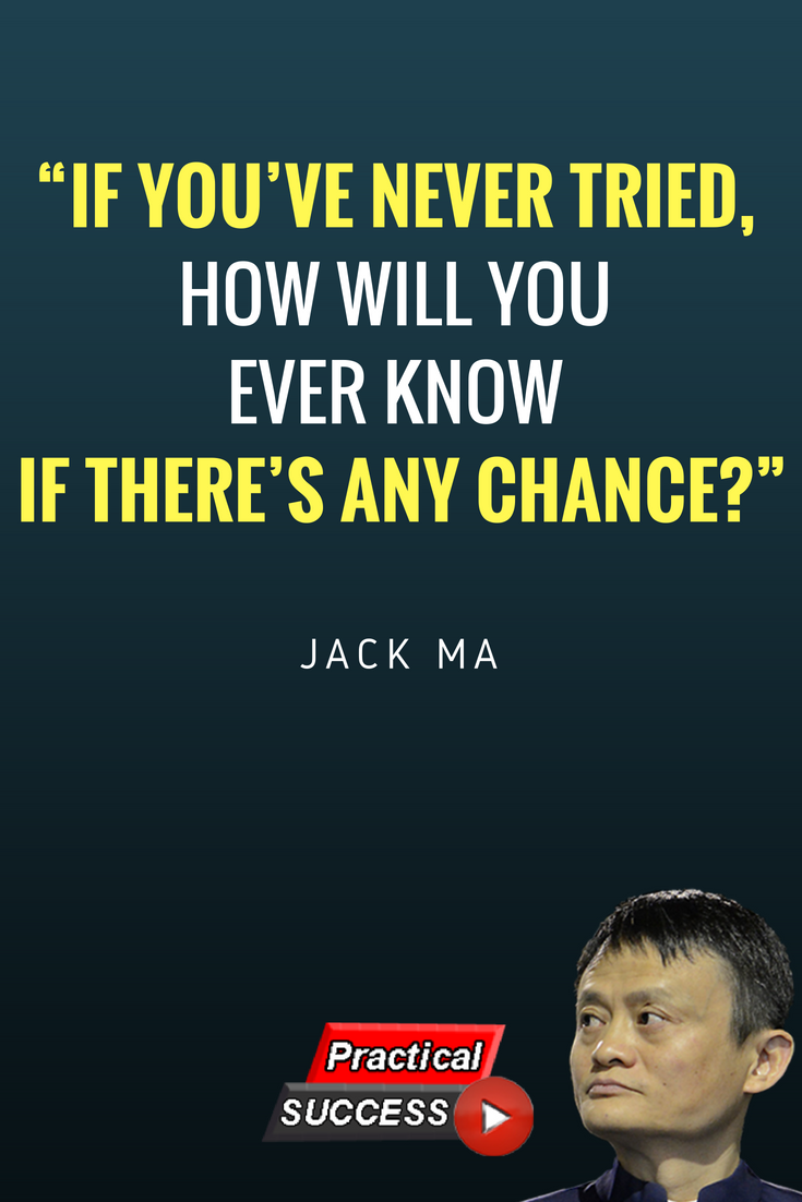 12 Best Influential Jack Ma Quotes Genius quotes