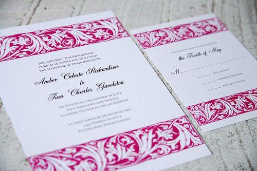 Filigree Wedding Invitations