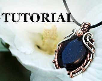 Wire wrap tutorial silver copper wire wrapped pendant tutorial wire wrap tutorial silver copper wire wrapped pendant tutorial wire jewelry tutorial aloadofball Gallery