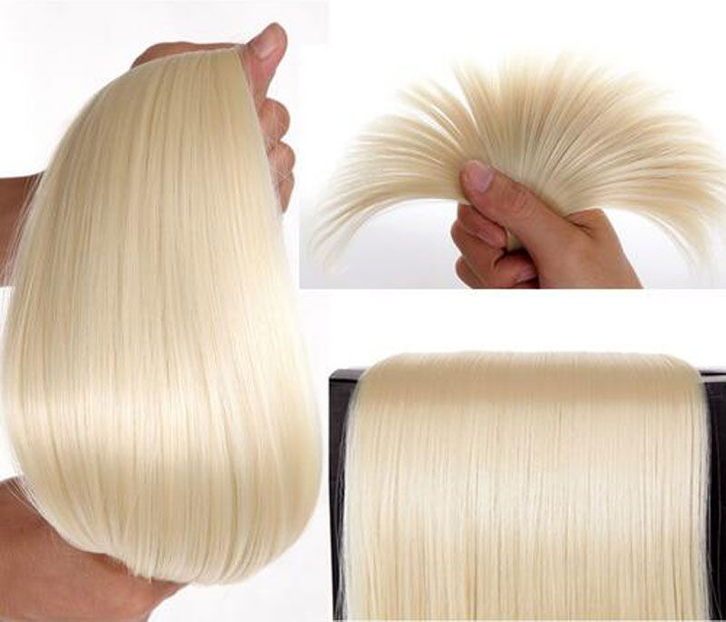 Snoilite Hairpiece 23inch 170g Straight 18 Clips In False Hair