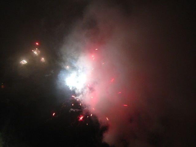 2013.08.05 鳥居焼祭。ビッグバン?