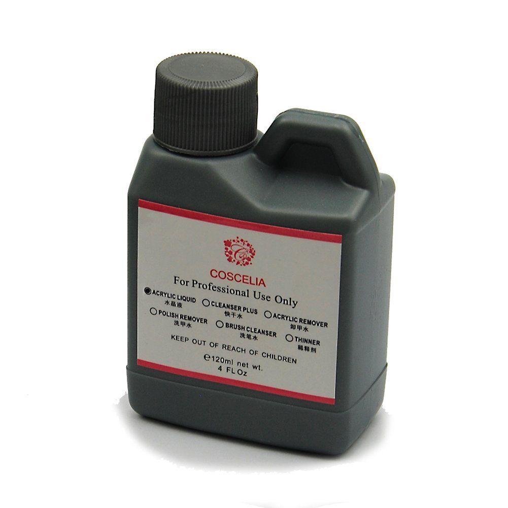 COSCELIA 120ML Acrylic Liquid /Professional Acrylic System Monomer ...