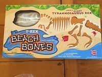SMALL WORLD TOYS T-REX Beach Bones Sand mold set/10 bone