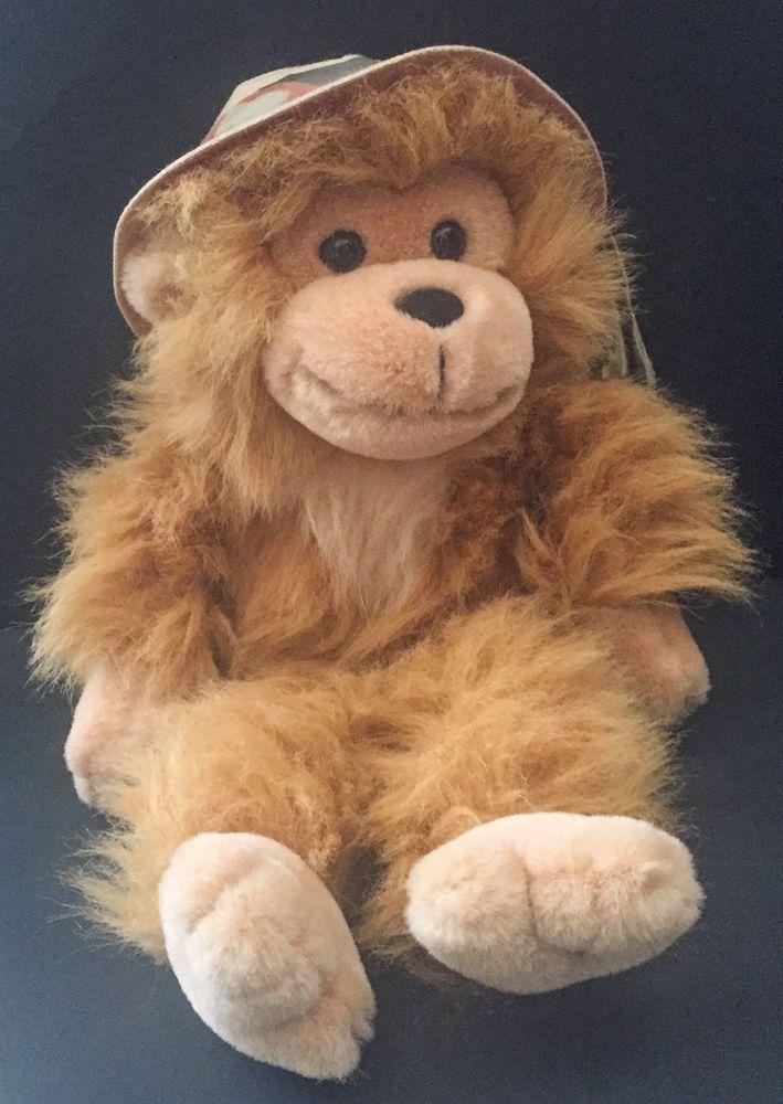 Details about Safari Monkey Plush Stuffed Animal Russ Zoo Zoo