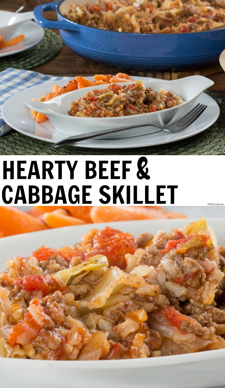 Hearty Beef Cabbage Skillet Recipe Ground Beef Recipes Healthy Healthy Ground Beef Beef Casserole Recipes