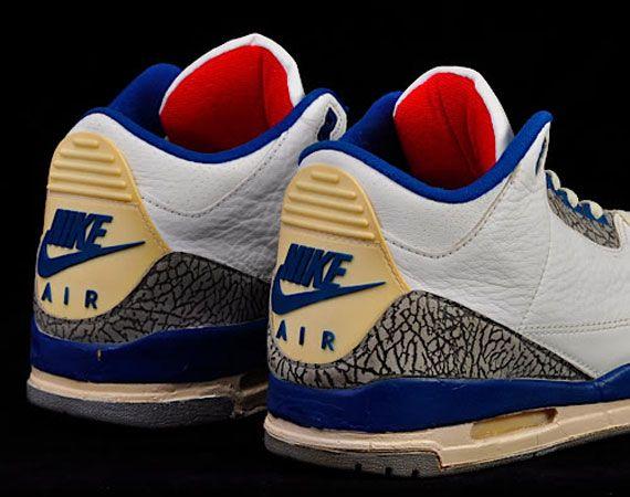 a6946418d15 OG True Blue Air Jordan 3's | FluGame. | Air jordans, Blue nike ...